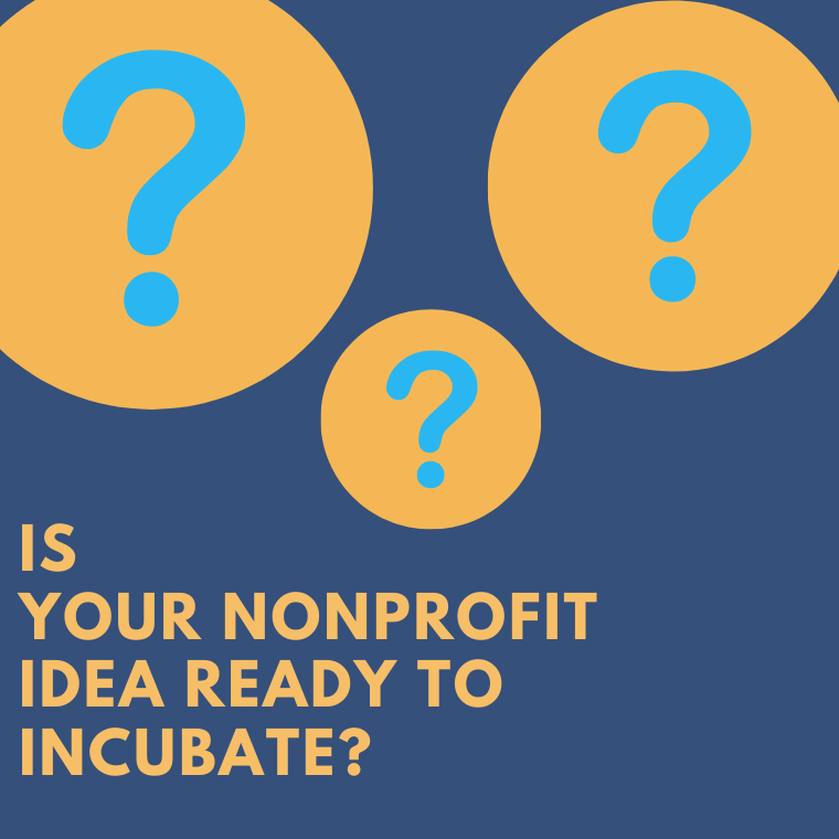 Read more about the article Is Your Nonprofit Idea Ready to Incubate? These Six Questions May Help You Find Out